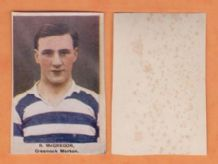 Greenock Morton Bob McGregor